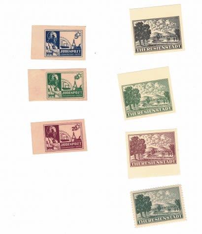 Lot 387 - Rare stamps  -  king David Auction Auction 4 Part 2 Numismatics and rare stamps