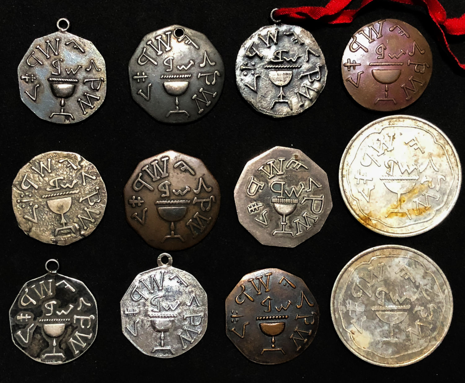 Lot 19 - Medals, Tokens.  -  yigal avrahamy Auction 03 - Coins and Banknotes of Israel and Palestine, medals and tokens.