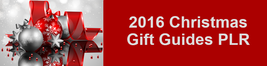 Christmas Gift Guides PLR 2016