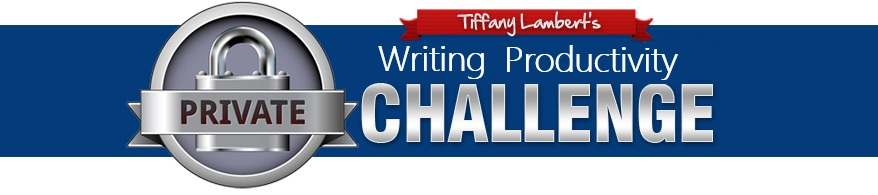 Tiffany Lambert's Writing Productivity Challenge