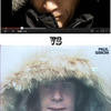 Man in Parka Imitates Putin