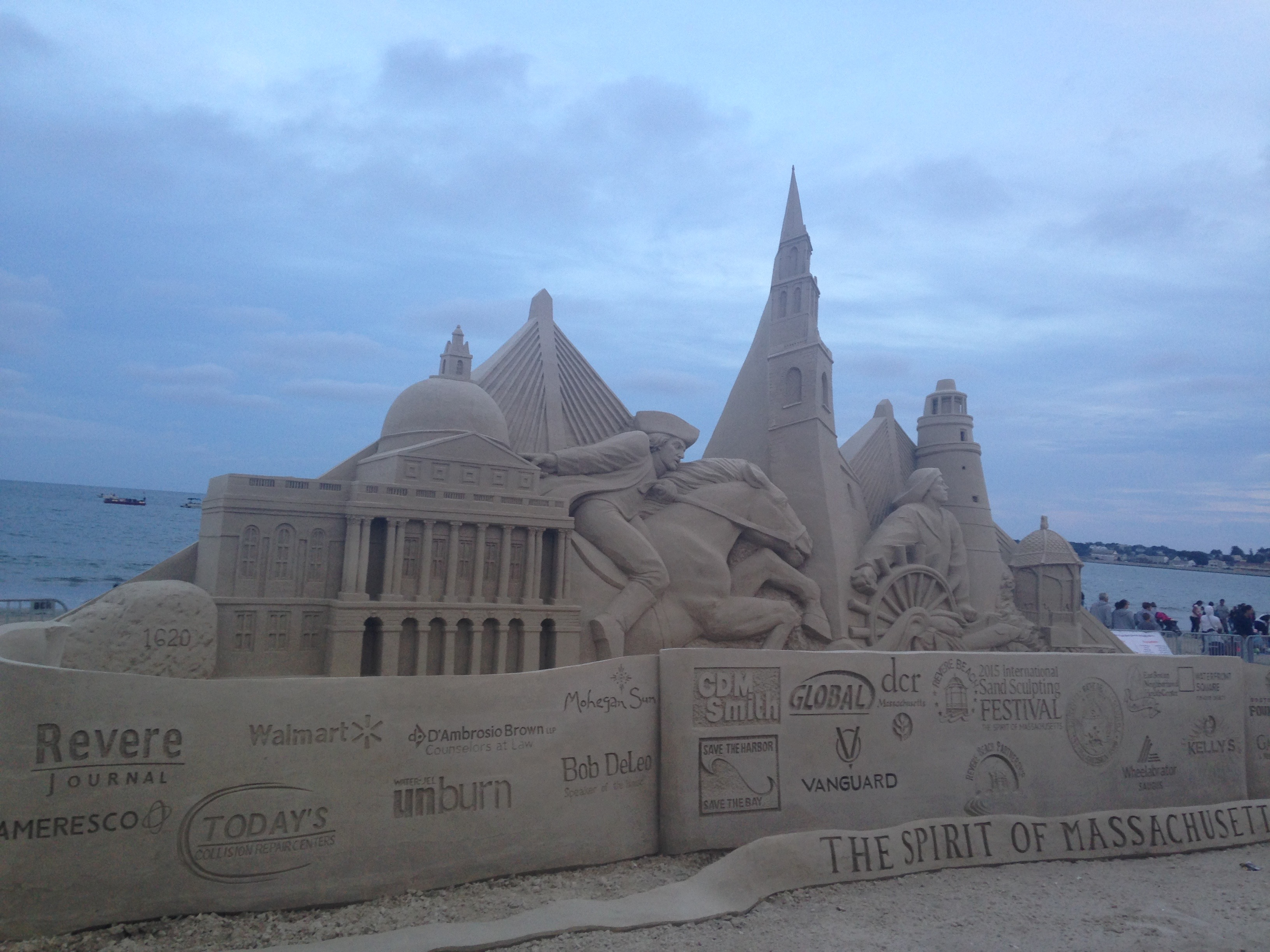 Revere Beach Sand Castle Competition