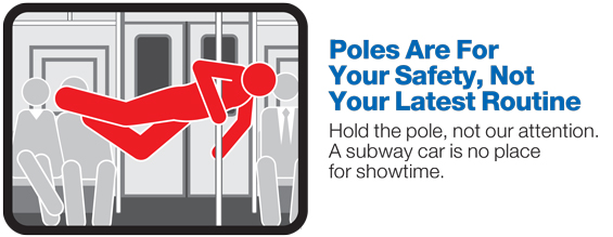 Poles are for your saftey
