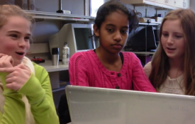 Image: A Tufts research project exploring how middle school students reason about physical phenomena using modeling and simulation technologies.