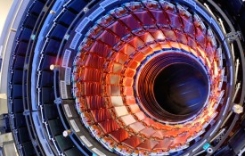 Image: Two Tufts professors and three undergraduates are spending their summers at the Large Hadron Collider in Switzerland.
