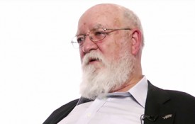 Image: Professor Daniel Dennett explains the strategies behind the game rock-paper-scissors.