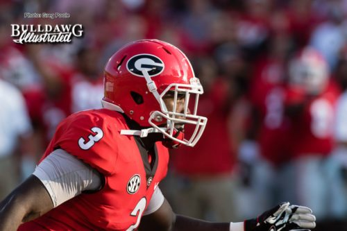 Georgia ILB Roquan Smith - Appalachian State vs. UGA - Saturday, Sept. 2, 2017