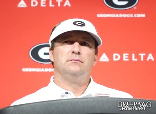 Kirby Smart talks about Georgia's 31-10 over Appalachian State in his post-game press conference - Saturday, Sept. 2, 2017 -