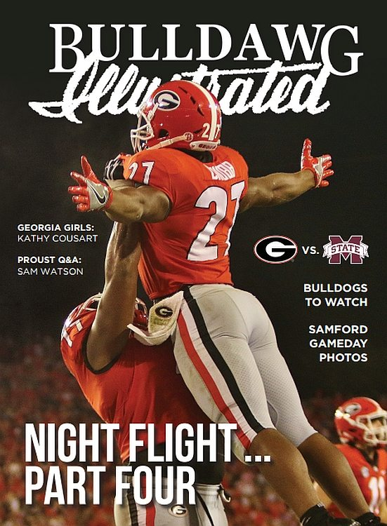 Bulldawg Illustrated vol 15 issue 06 Night Flight - Part Four - COVER