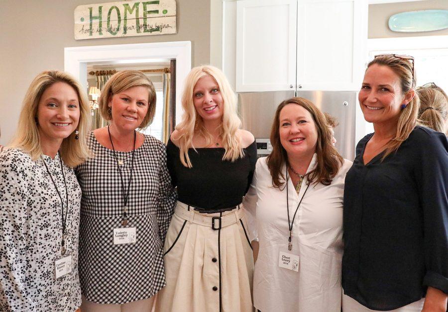 Caroline Kinney, Valerie Langley, Mandy Rye, Cheri Leavy, and Carinne Hardin (Photo by  Grey Owl Social)