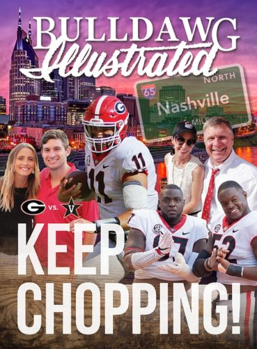 2017 Vol 15 Issue 08 Keep Chopping - Bulldawg Illustrated magazine cover