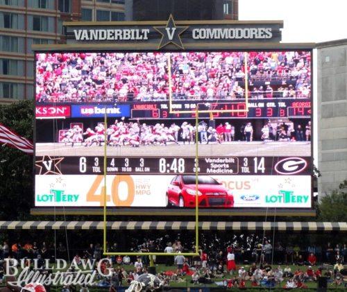 Vanderbilt Commodores stadium