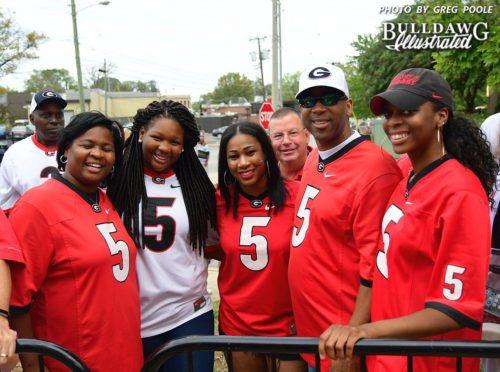 Olivia Godwin, Tyterria Godwin, Terryuana Godwin, Terry Godwin (Sr.), and Keyatta Anderson