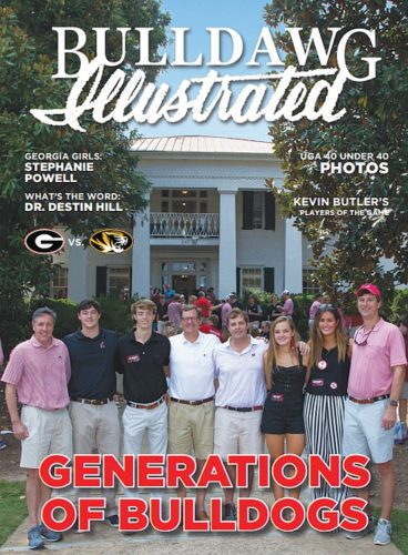 Bulldawg Illustrated cover - 2017 Vol 15 Issue 09 Generations of Bulldogs