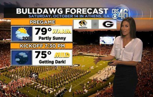 CBS46 Atlanta meteorologist Ella Dorsey
