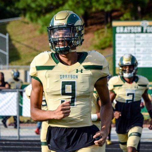 Kenyon Jackson - Class of 2019 WR - (Photo from Kenyon Jackson - Twitter)