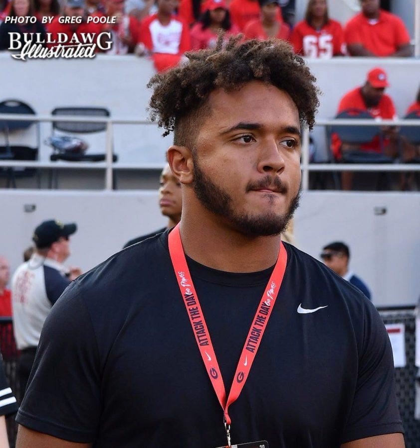 Caleb Johnson  - Class of 2018 LB/DE - Northside High School