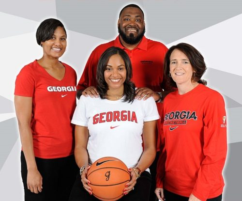 UGA women's basketball team's Biscuits for Baskets this Saturday, October 21, 2017  (Photo from Georgia Sports Communication)