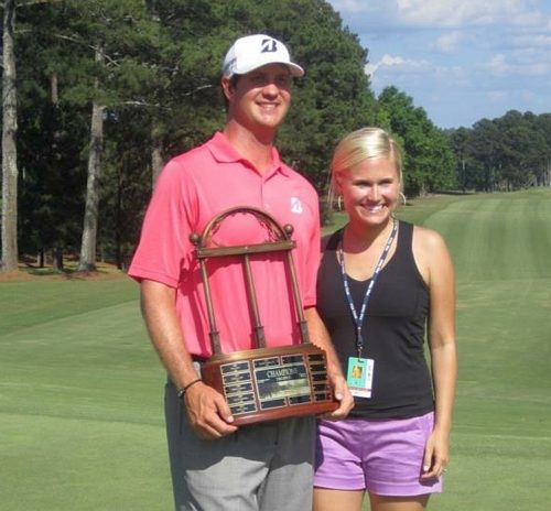 Hudson and Katherine Swafford  - 2012 Athens Stadion Classic -