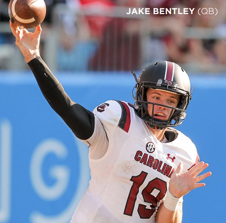 South Carolina QB Jake Bentley (PHOTOS BY: SOUTH CAROLINA ATHLETICS)