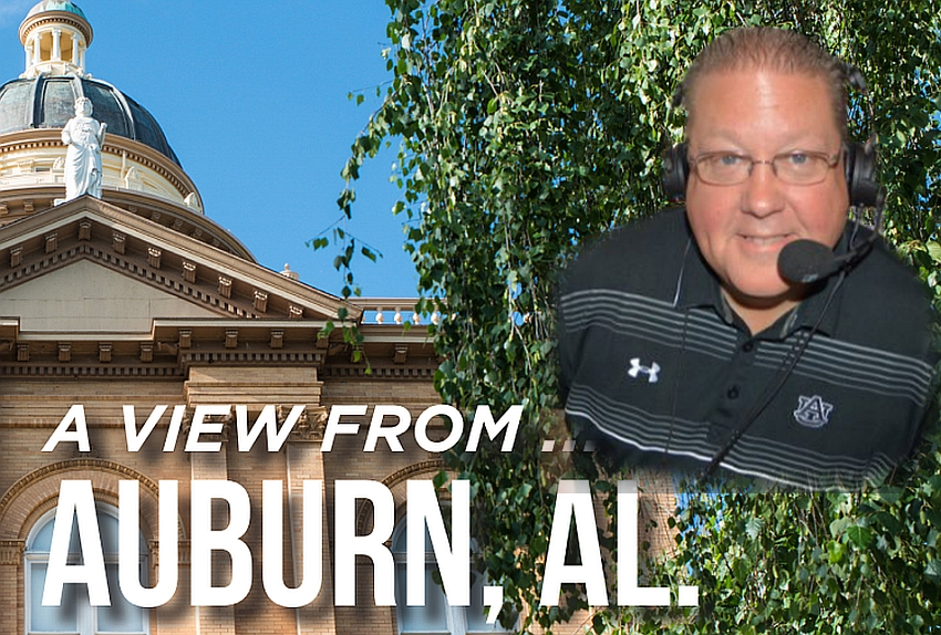 A view from...Auburn, AL with Andy Burcham