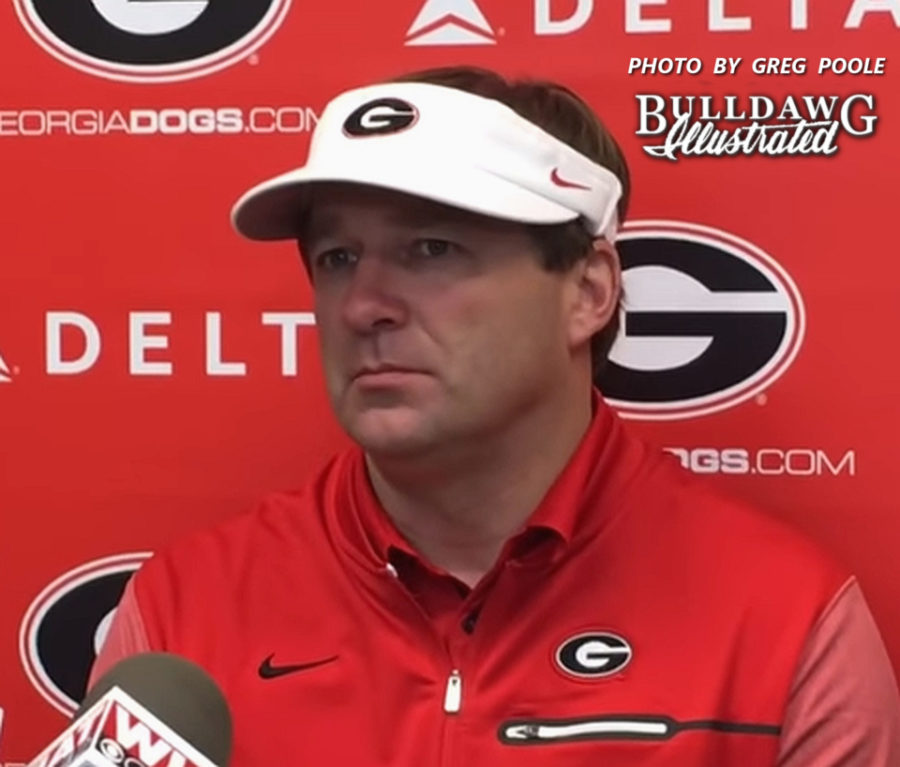 Kirby Smart during his post-Auburn Game Press Conference, Sat. Nov. 11, 2017