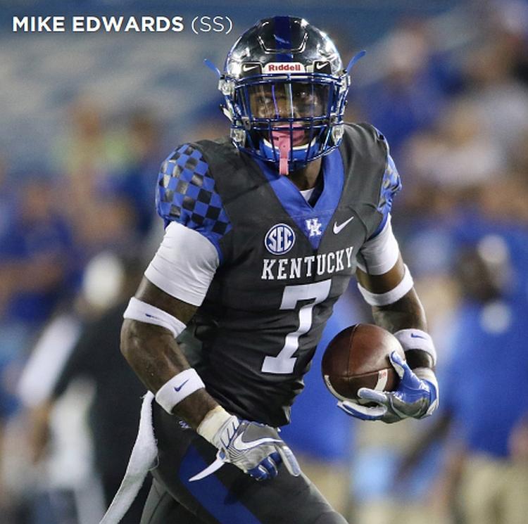 Mike Edwards (Photo from Kentucky Athletics)