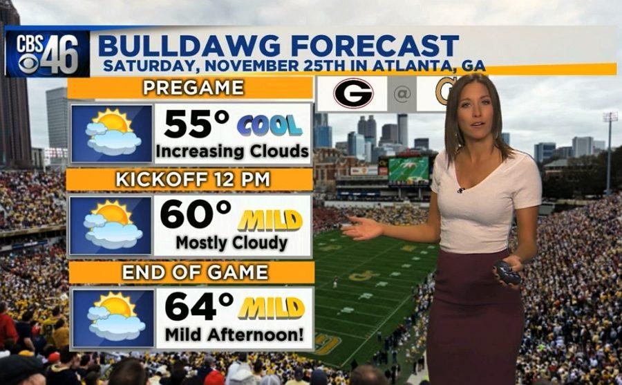 Ella's Bulldawg Forecast for Georgia vs. Tech