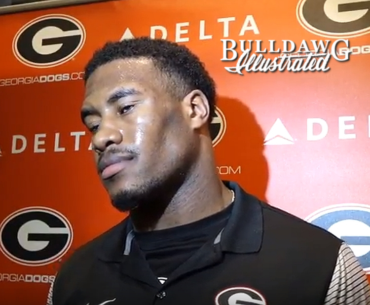 David Marshall during his post-practice interview on Tuesday, Nov. 28, 2017