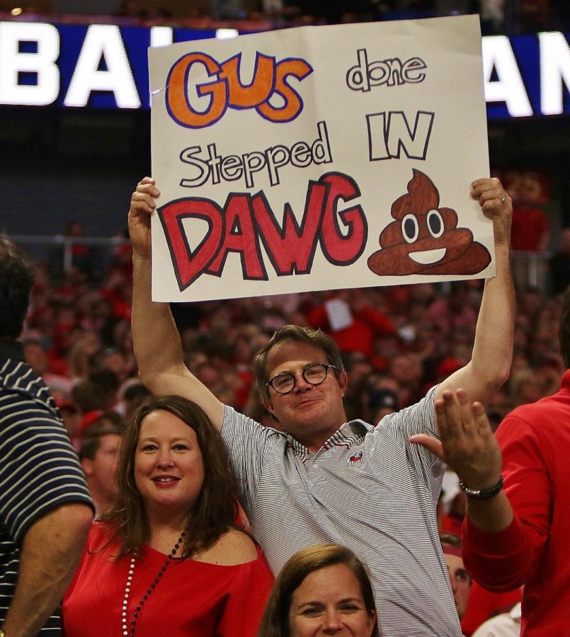 Cheri and Vance Leavy - 2017 SEC Championship - Dawgs 28 Auburn 7 - 12-2-17 - (Photo by Rob Saye)