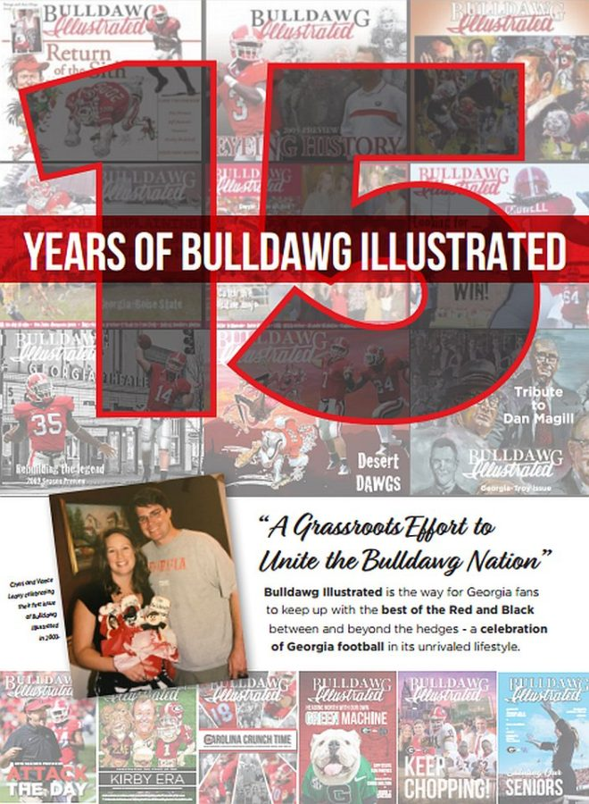 Celebrating 15 years of Bulldawg Illustrated