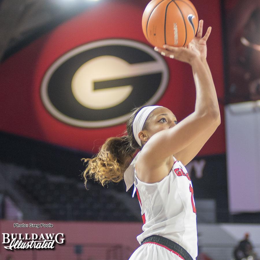 Haley Clark – Georgia vs. Georgia Tech – December 17, 2017