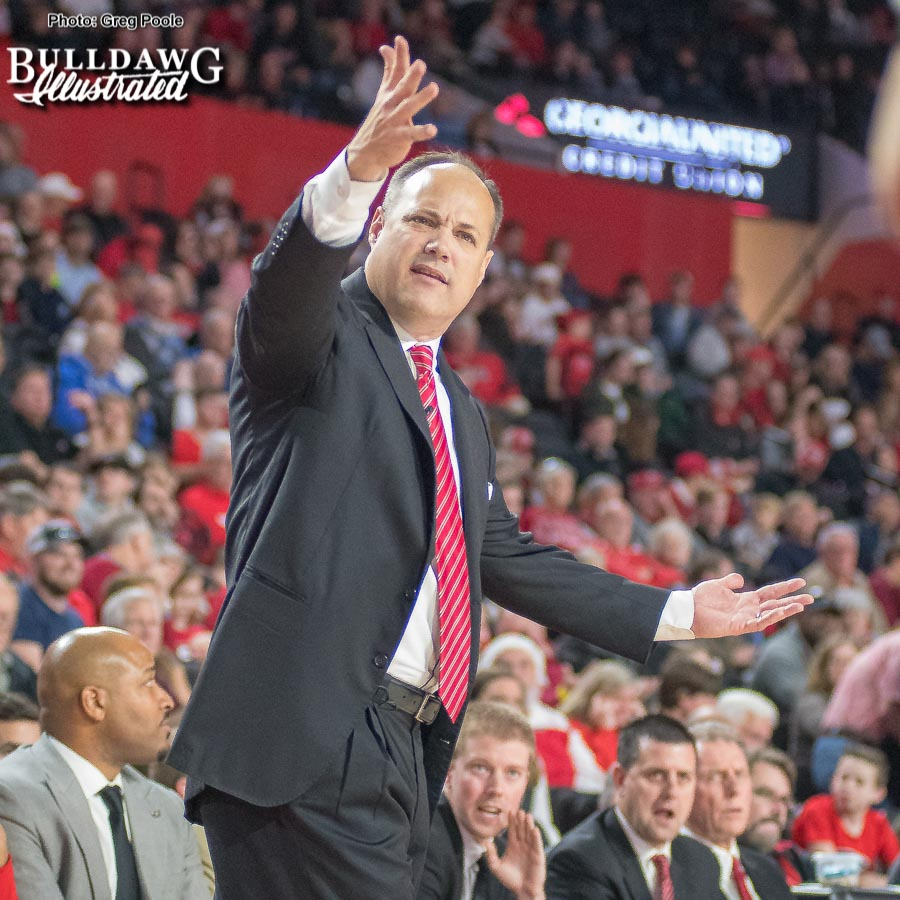 Mark Fox - Head Coach of the Georgia Men's Basketball Team -