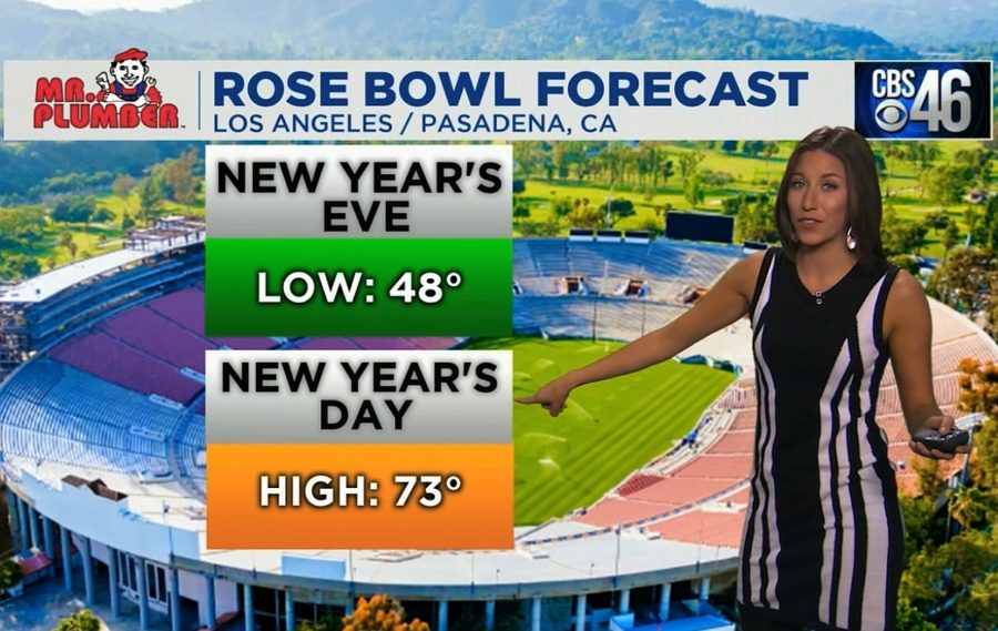 Ella's Bulldawg Forecast for the Rose Bowl College Football Playoff Semifinal game