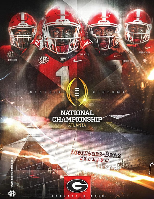 2018 Georgia Bulldog Football National Championship Media Guide