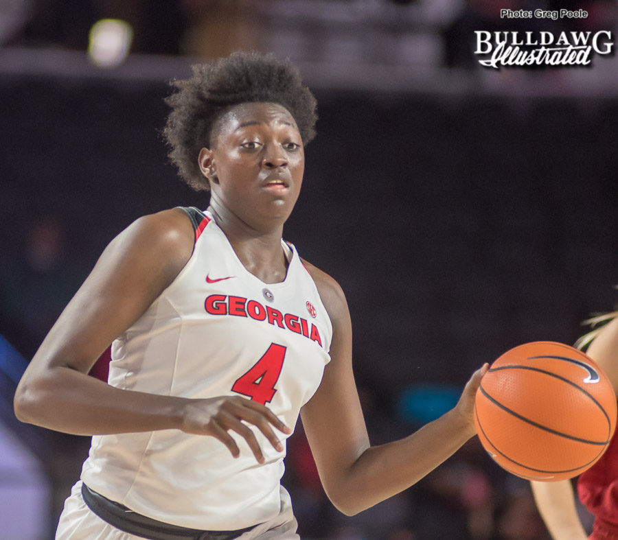 Caliya Robinson - UGA Women's Basketball Team -