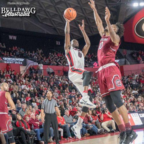 """Turtle"" Jackson – Georgia vs. South Carolina – January 13, 2017"