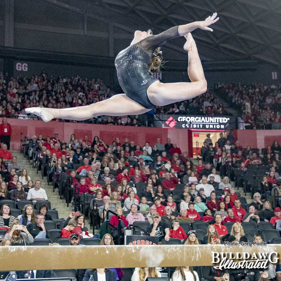 UGA gymnastics – Georgia vs. Oklahoma – January 15, 2018