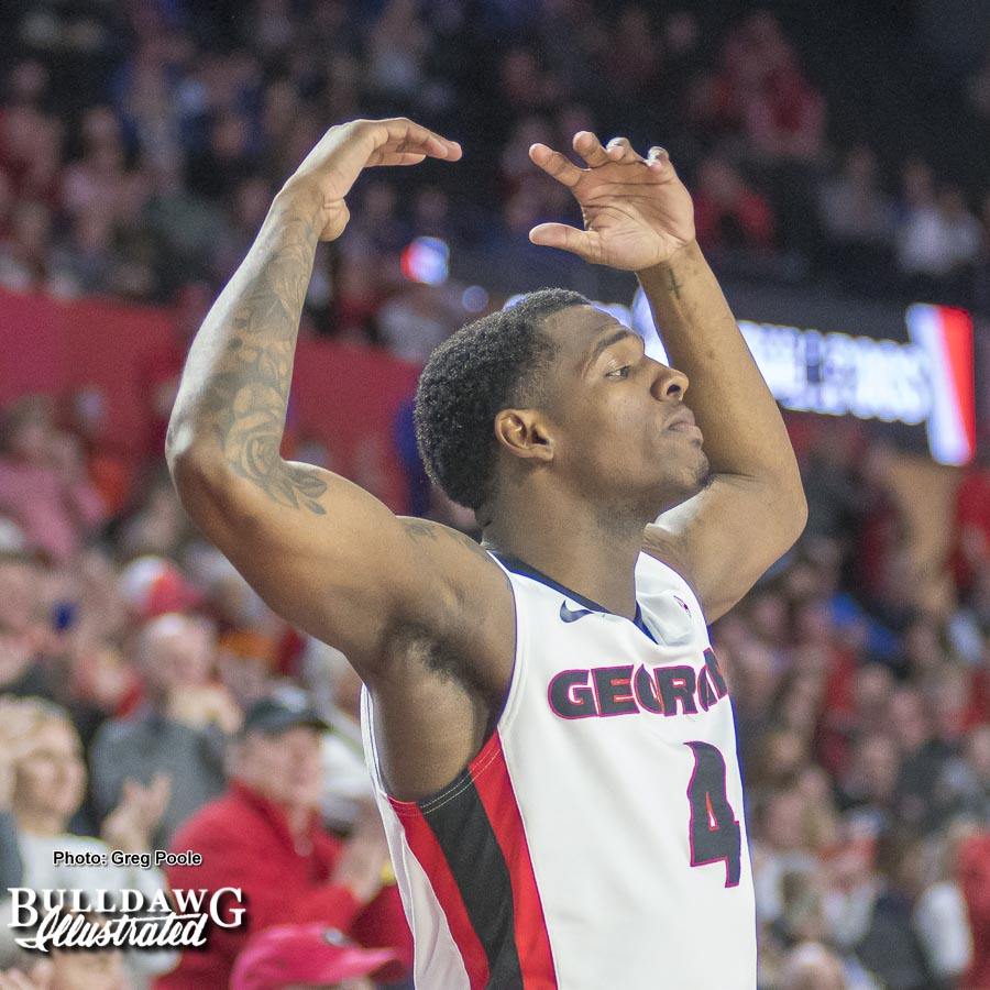 Tyree Crump – Georgia vs. Florida – January 30, 2018