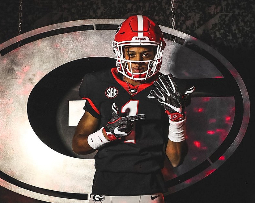 Antoine Green – Class 2018 wide receiver – (Photo from Antoine Green/Twitter)