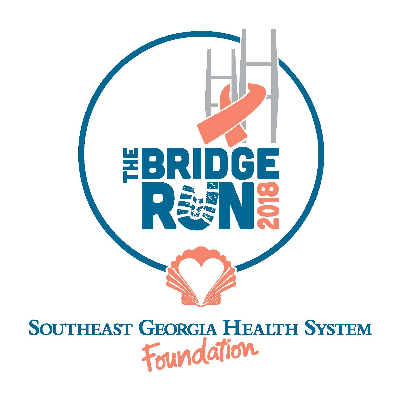 The bridge run 2018 logo