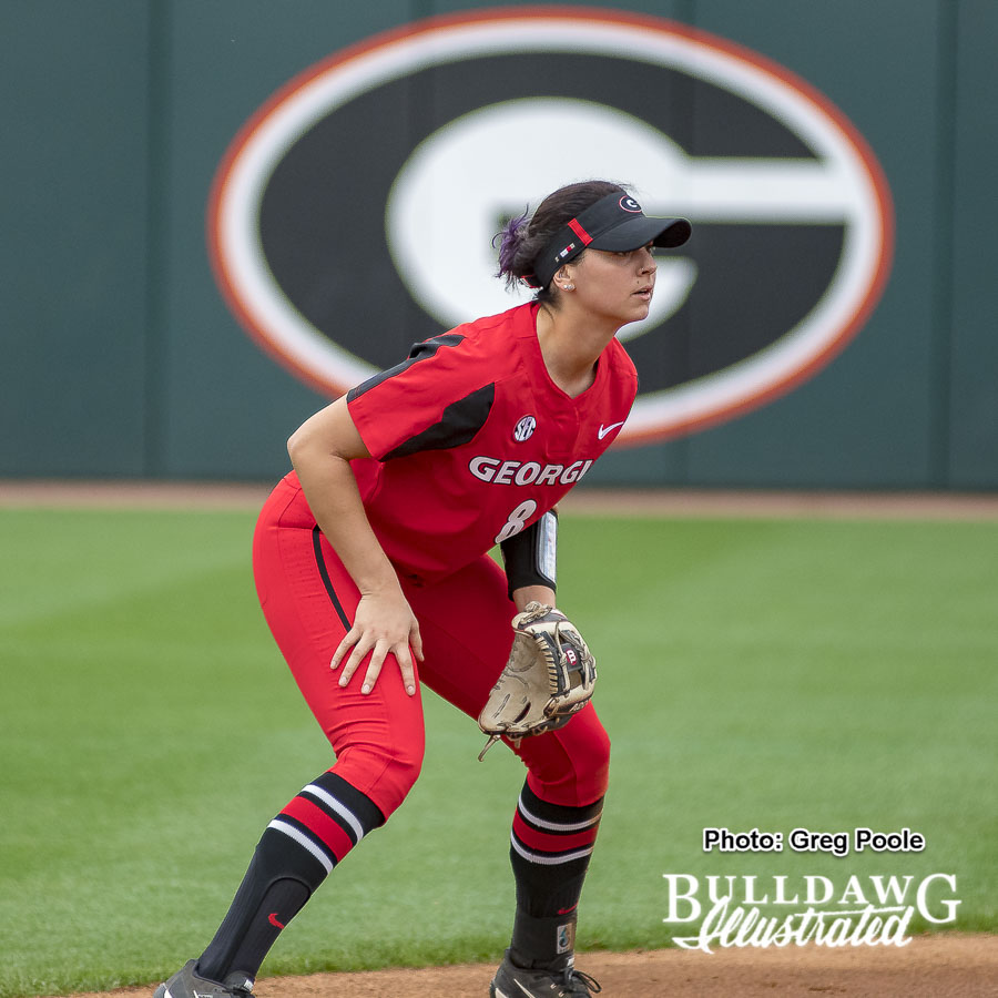 Alyssa DiCarlo – Georgia vs Winthrop – February 16, 2018