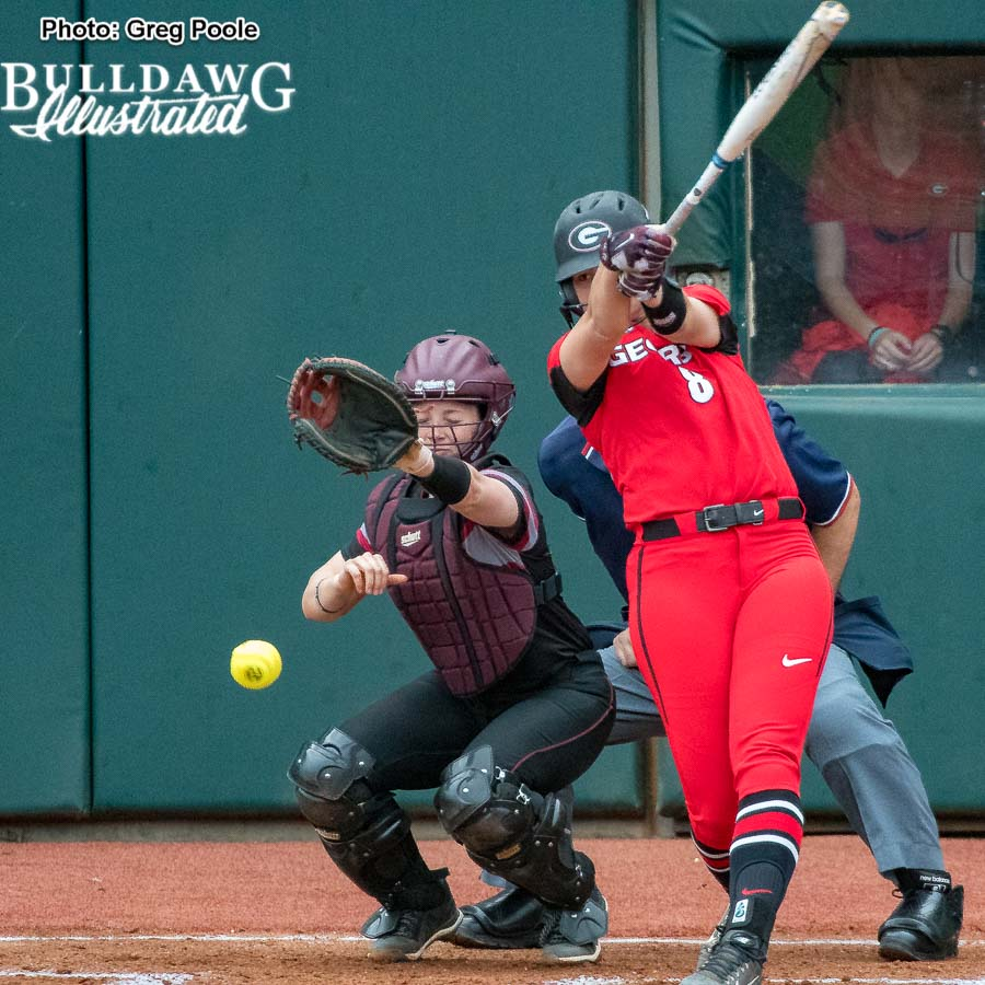 Alyssa DiCarlo – Georgia vs. Winthrop – February 16, 2018