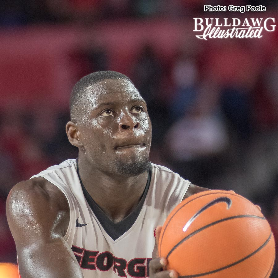 Derek Ogbeide – Georgia vs. Tennessee – February 17, 2018