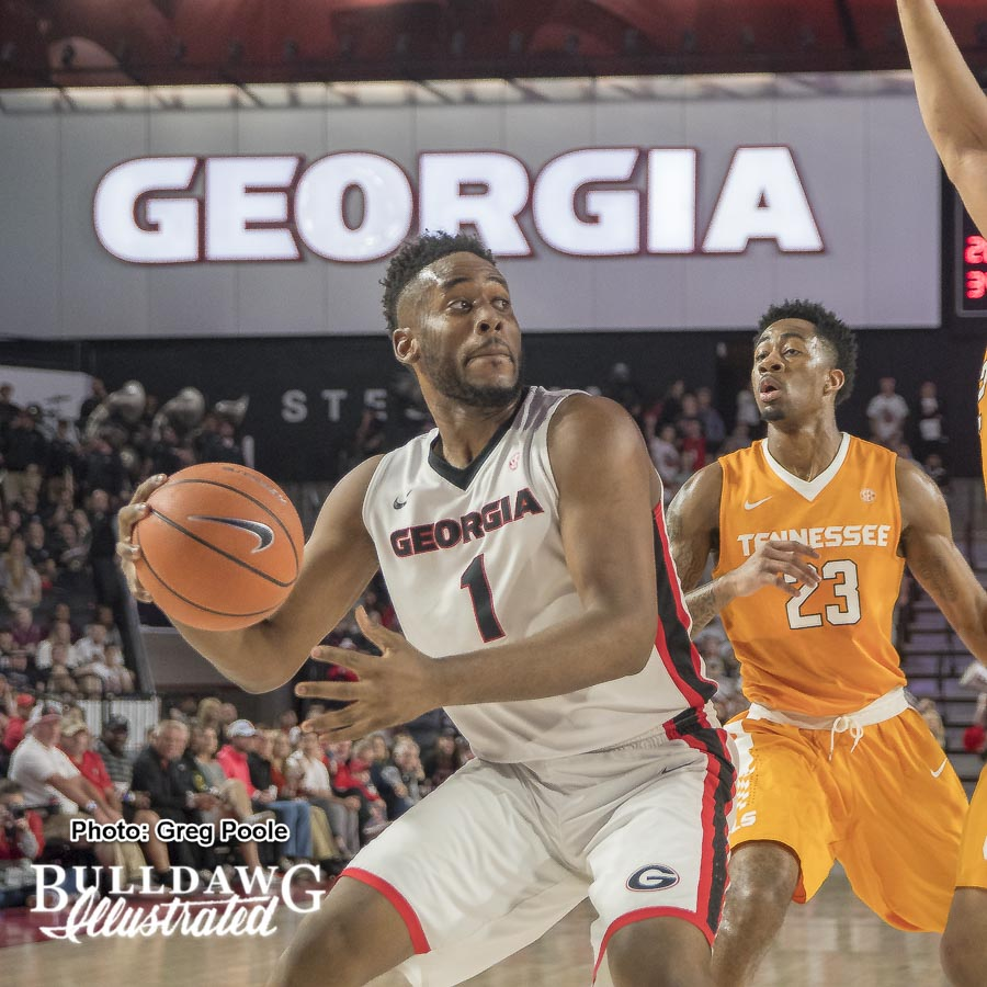 Yante Maten – Georgia vs. Tennessee – February 17, 2018