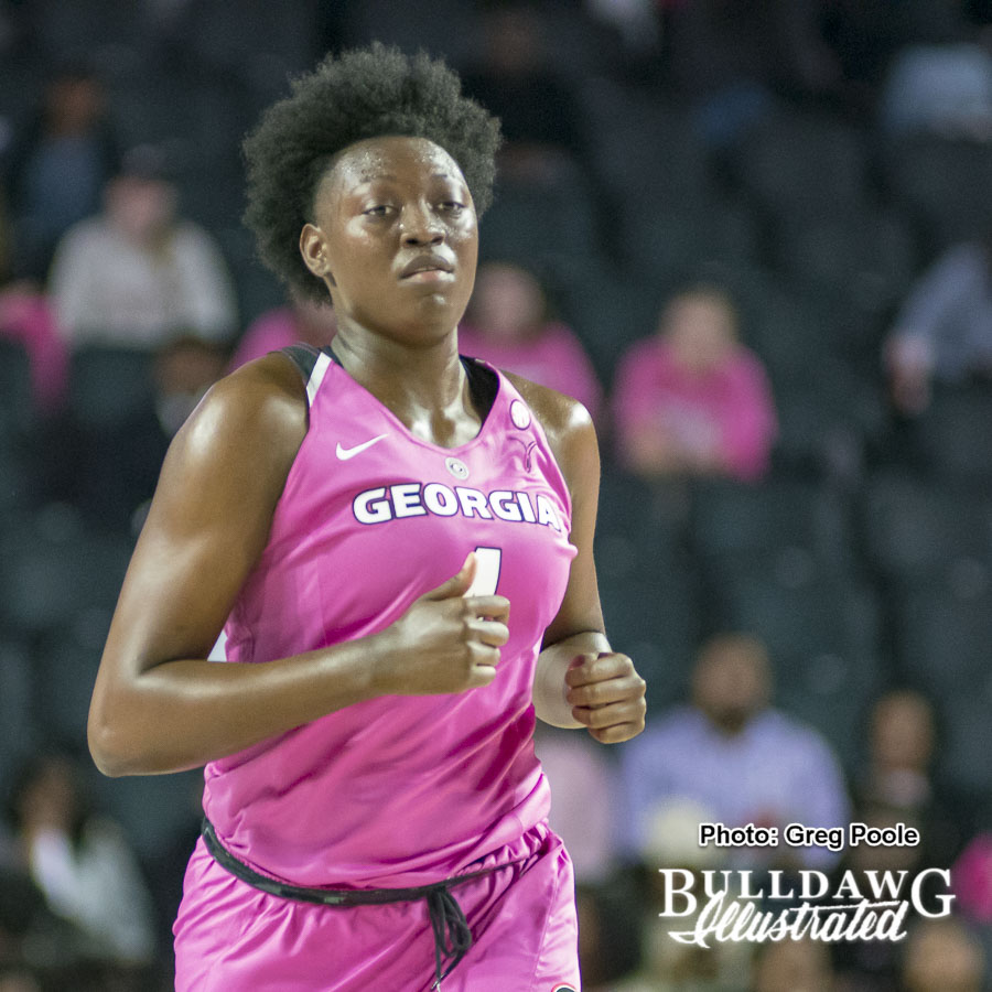 Caliya Robinson – Georgia vs. South Carolina – February 15, 2018
