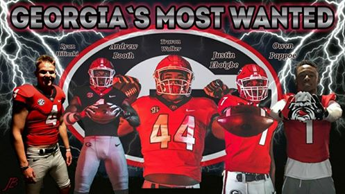 Georgia's Most Wanted Edit by Jason Baugh @jasonbaugh18
