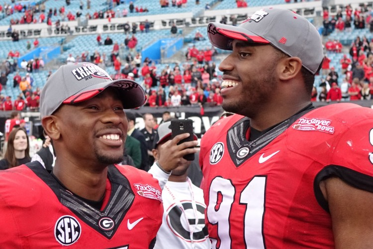 Terry Godwin and Jordan Jenkins