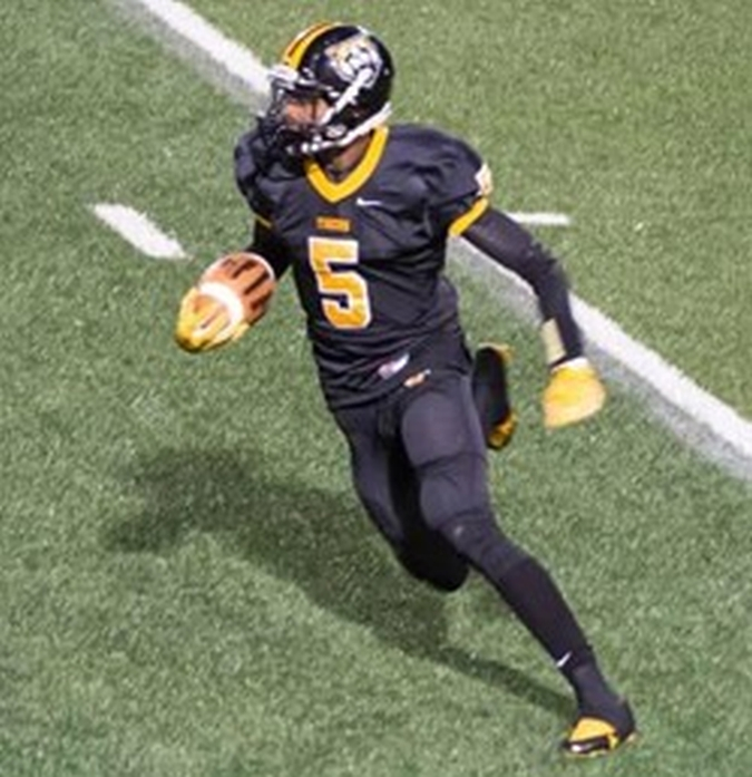 Jaylen Harris - 2017 WR - Cleveland Heights High School, OH (Photo courtesy of CHUH.org)