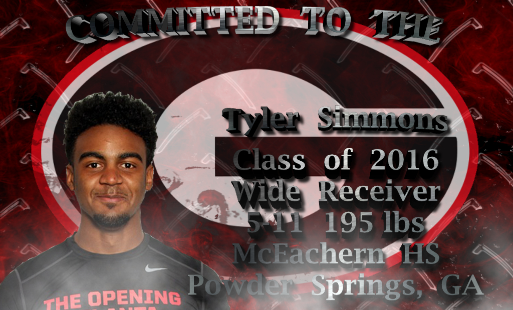 Tyler Simmons - Committed To The G edit template 2016 by Bob Miller
